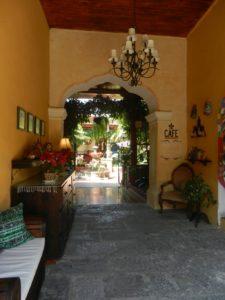 Cafe in Antigua