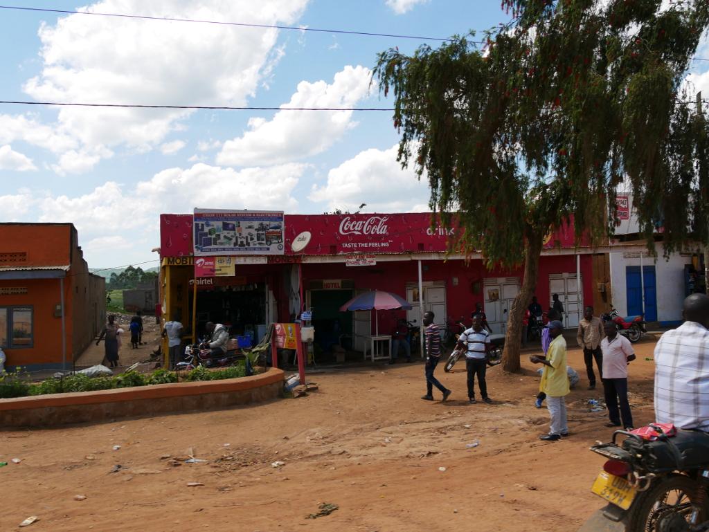 Kleinstadt Uganda