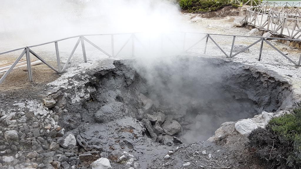 Heiße Quellen Furnas