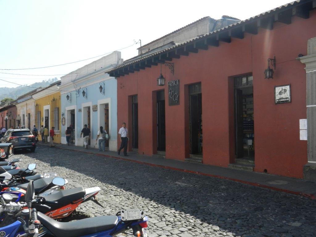 Kolonialstil Antigua Guatemala