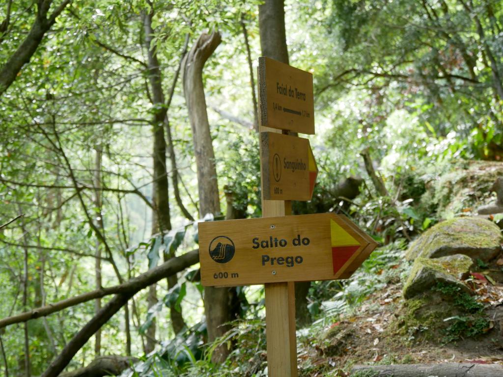 São Miguel wandern Wegbeschilderung