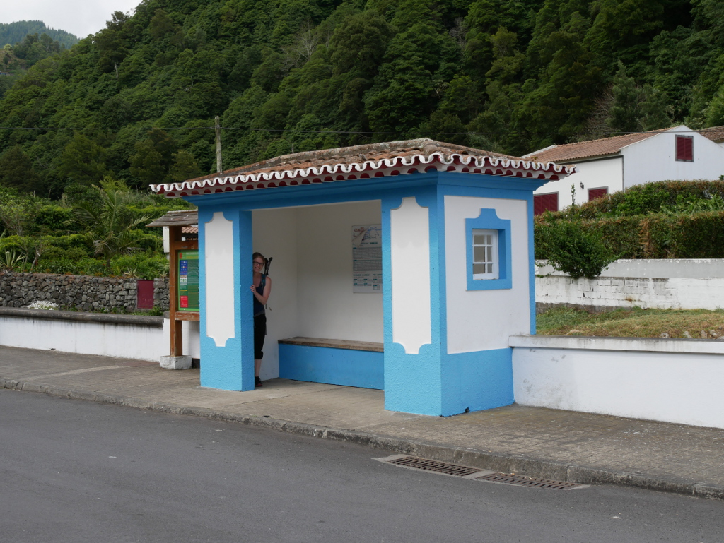 Startpunkt Wanderung Salto do Prego