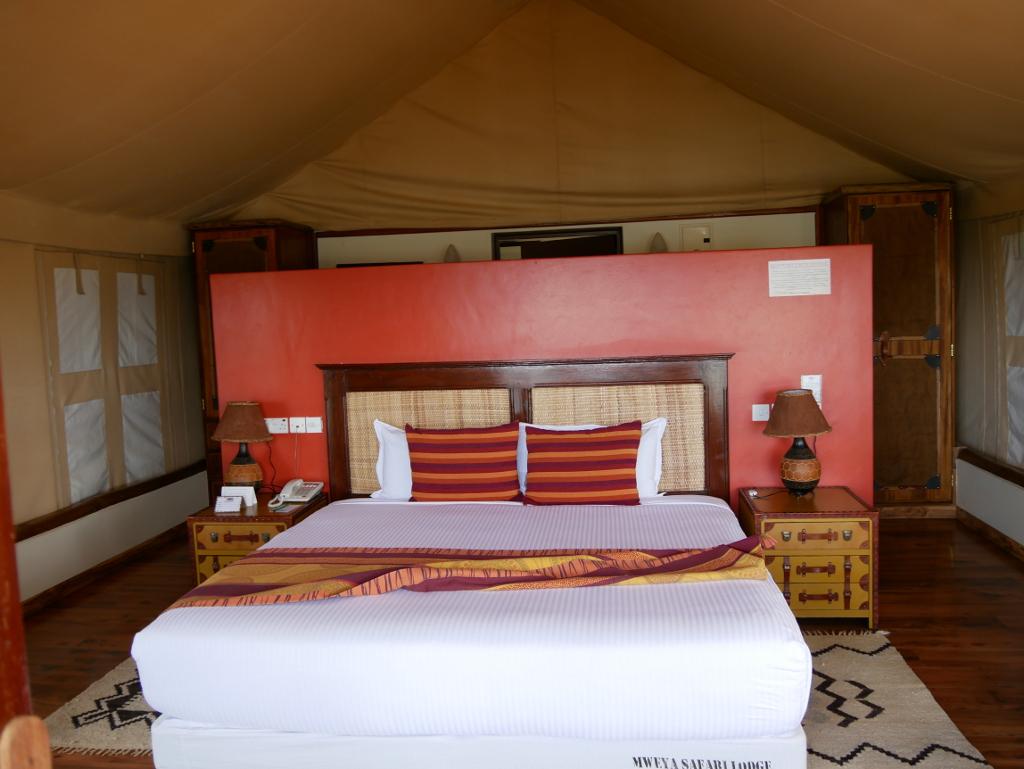 Zimmer Mweya Safari Lodge