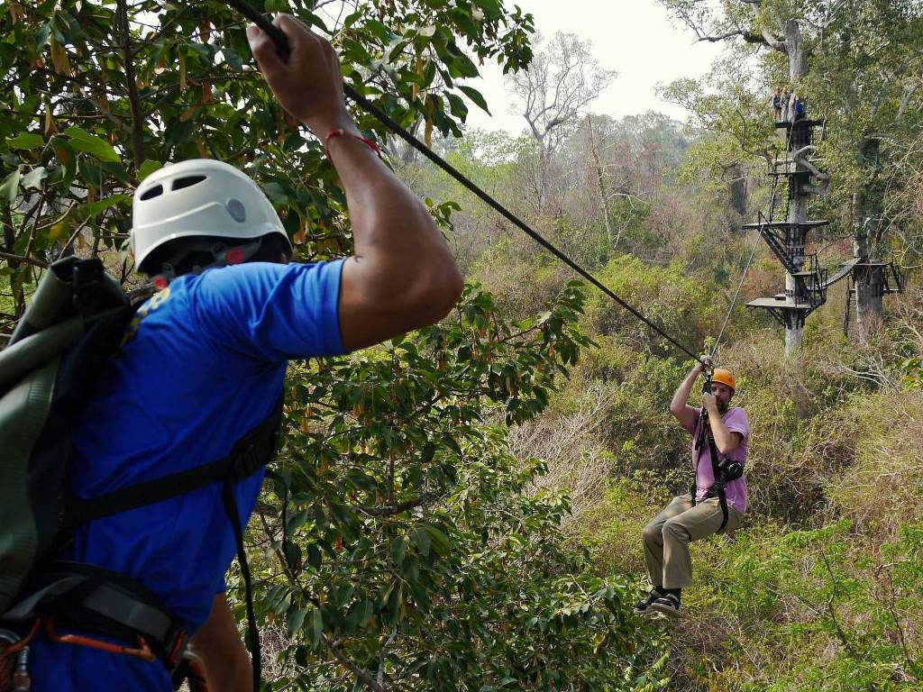 Ziplining Kambodscha