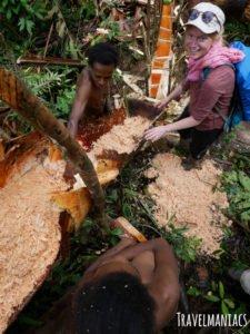 Sago Papua Ureinwohner