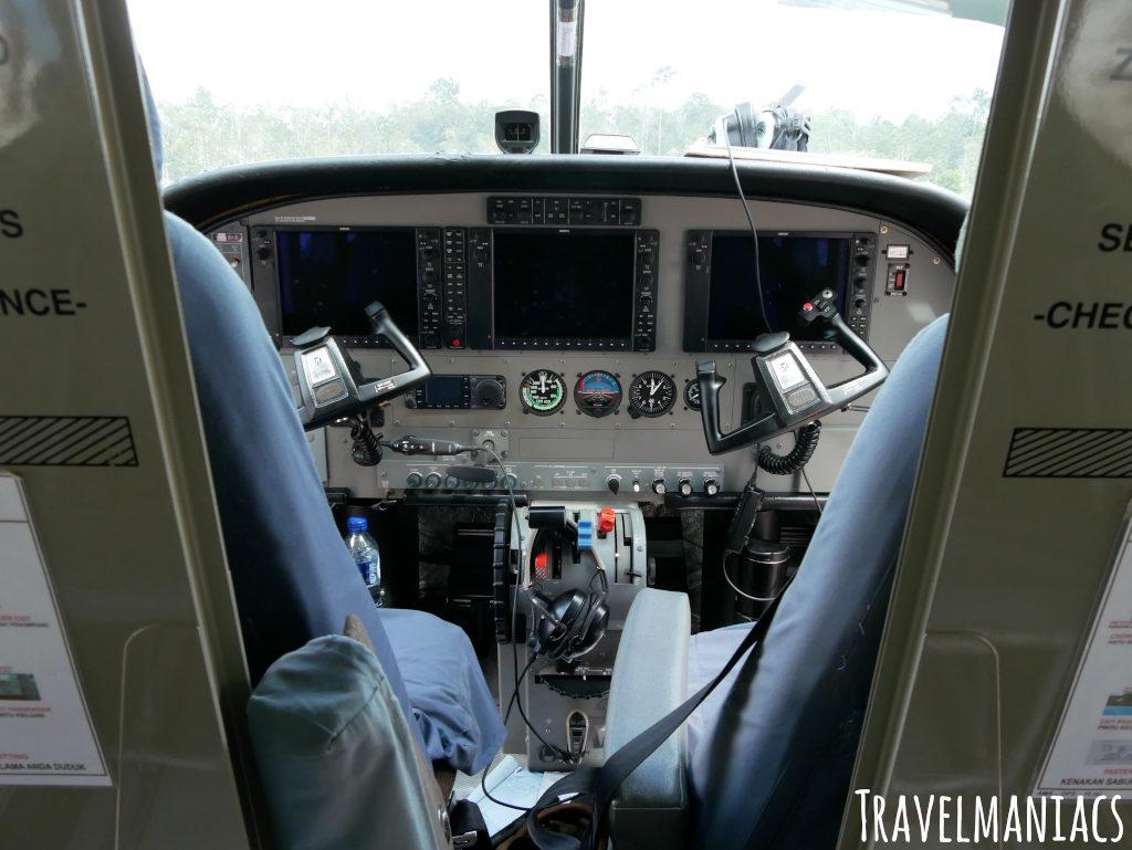 Cockpit Pilatus Porter
