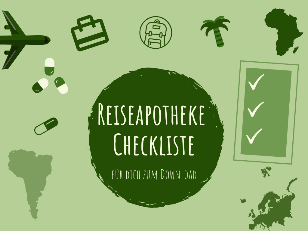 Reiseapotheke Checkliste Download