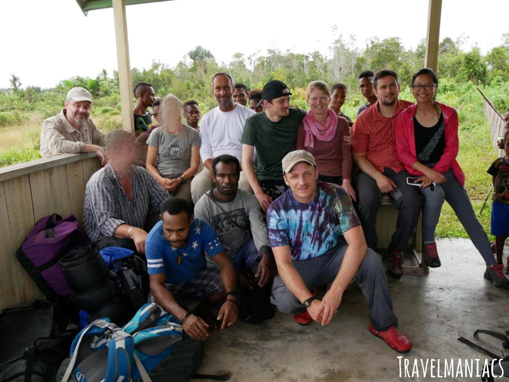 Reisegruppe Papua
