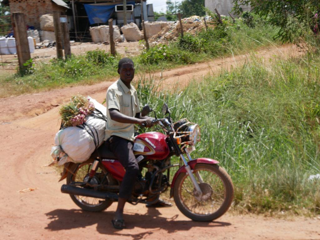Menschen Uganda