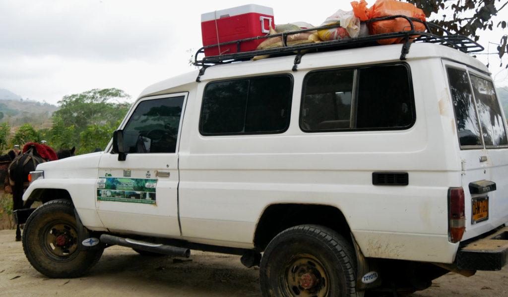 Geländewagen Ciudad Perdida