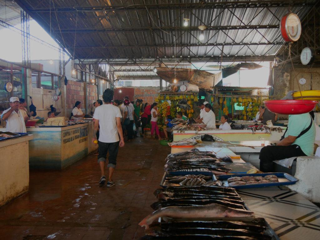 Markt Leticia Kolumbien