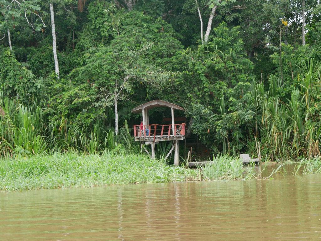 Steg Calanoa Lodge Amazonas