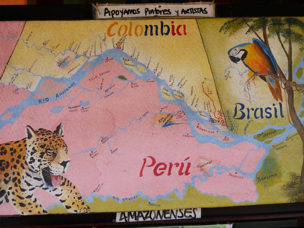Trifrontera Amazonas
