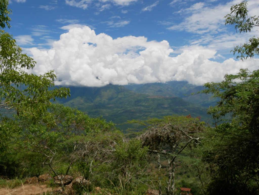 Camino Real San Gil Barichara Kolumbien