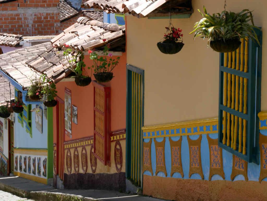 Häuser in Guatapé