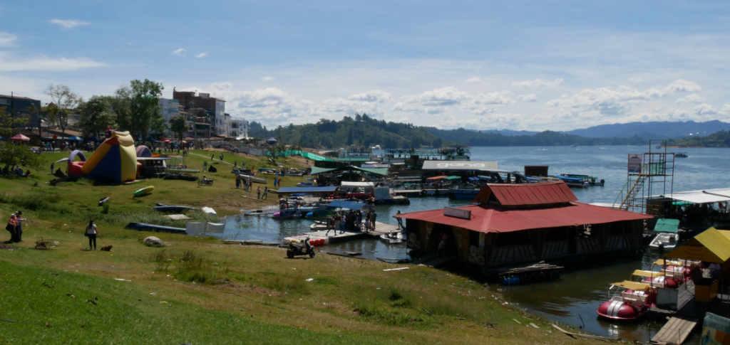 Hafen von Guatapé