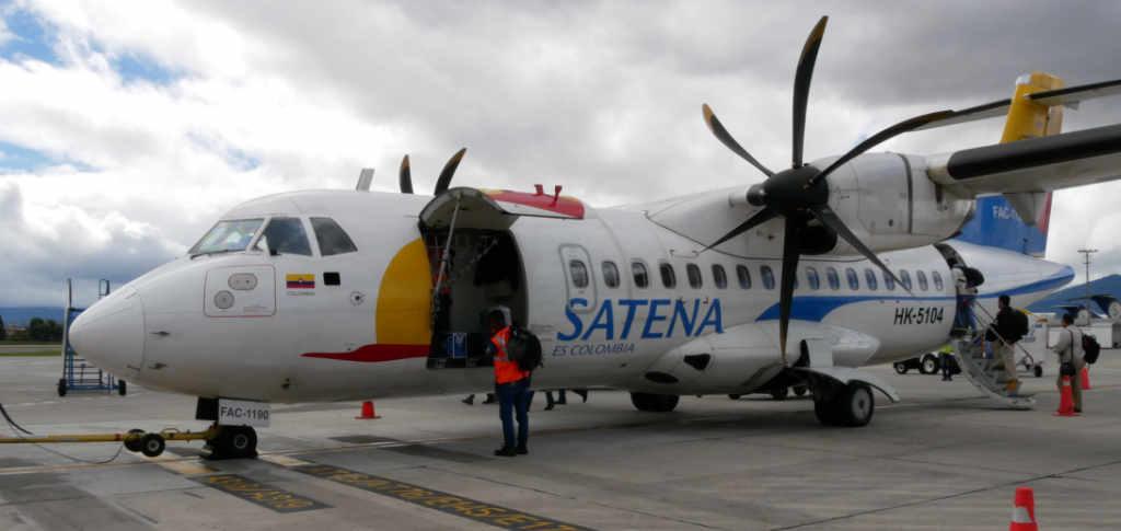Inlandsflug Kolumbien