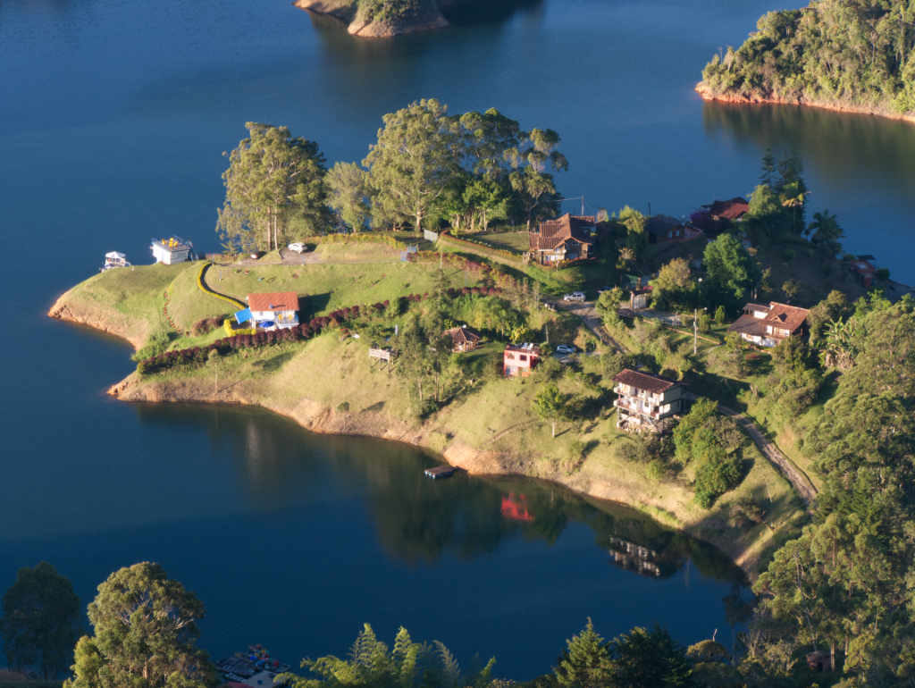 Eine Insel in Guatapé