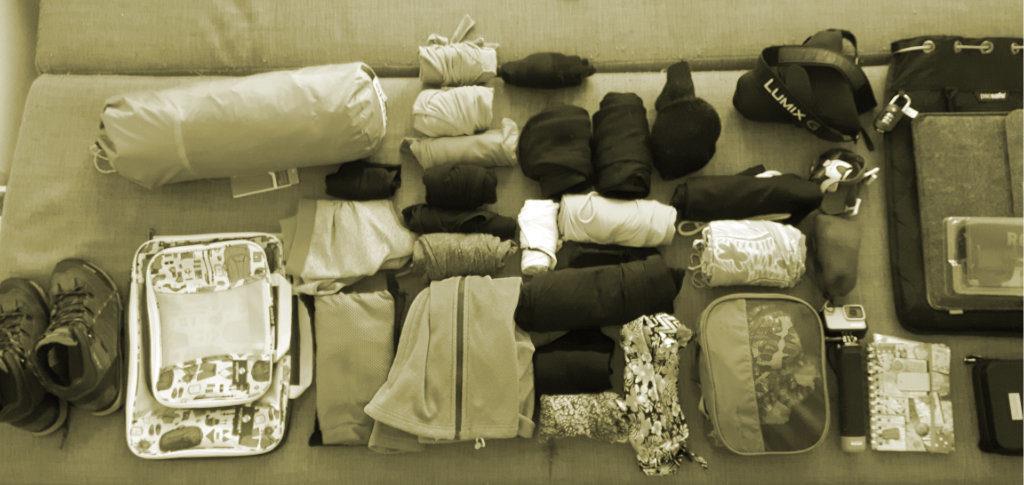Weltreise planen Packliste