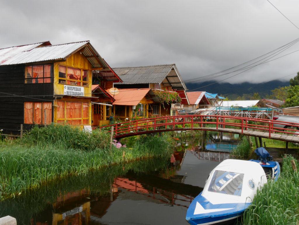 Dorf Laguna de la Cocha