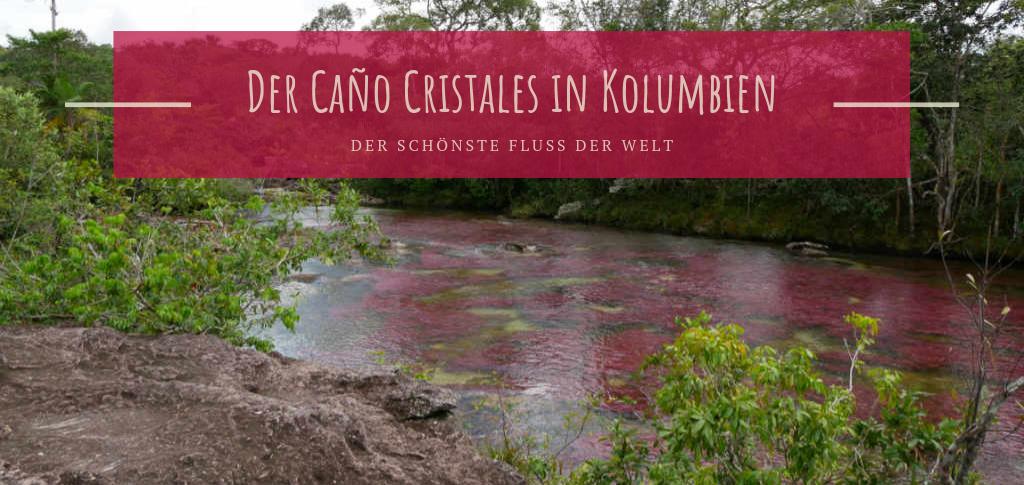 Regenbogen Fluss Kolumbien Caño Cristales