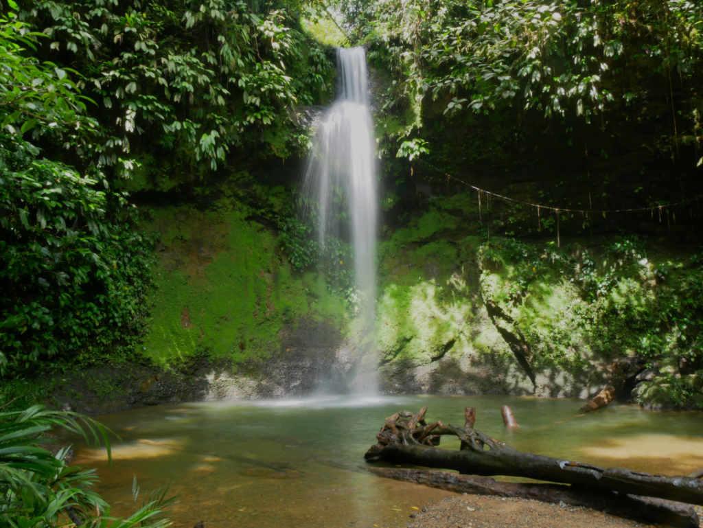 San Cipriano Ausflug Wasserfall