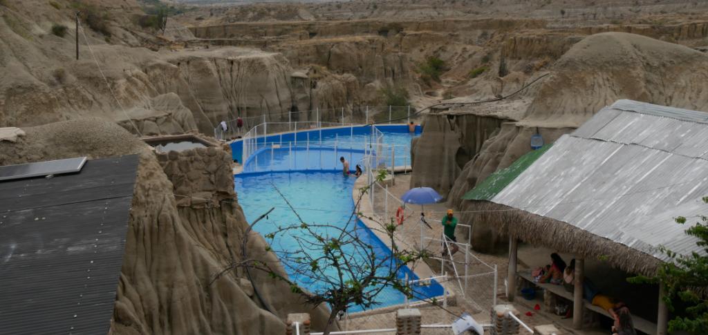 Schwimmbad Wüste