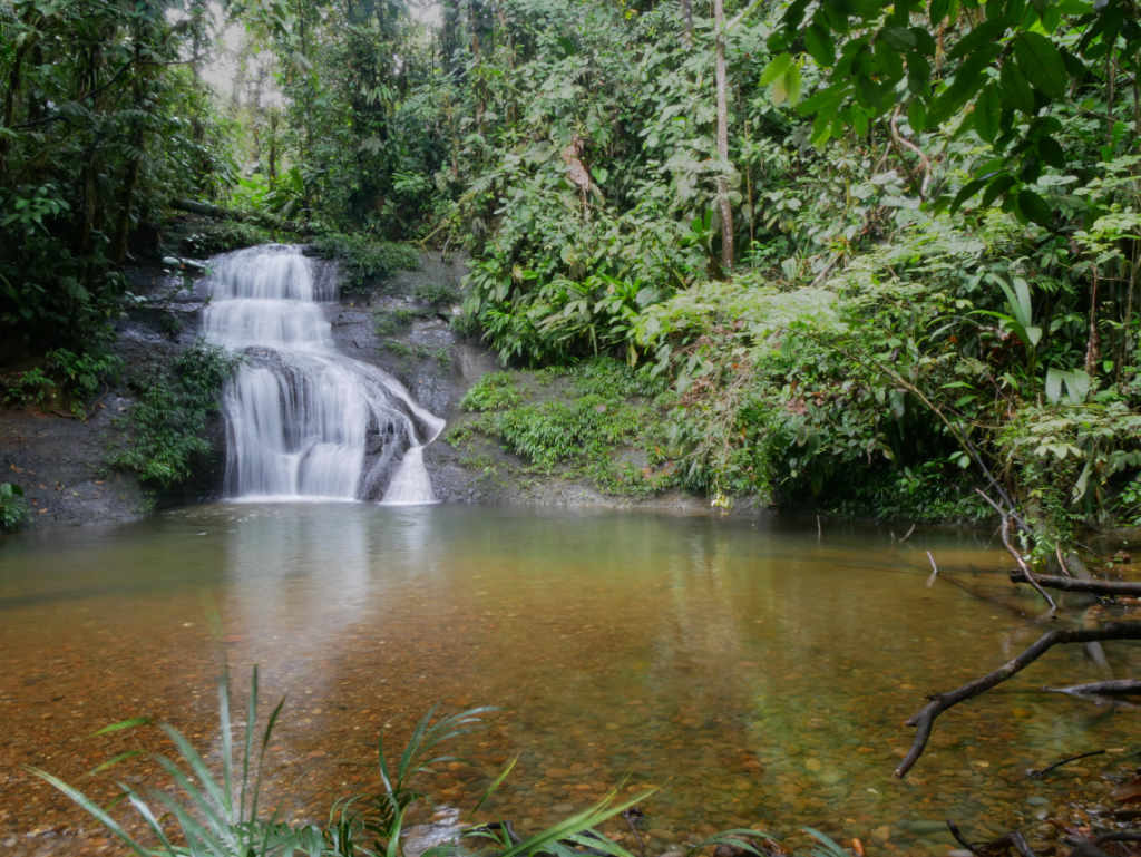 Wasserfall San Cipriano Kolumbien