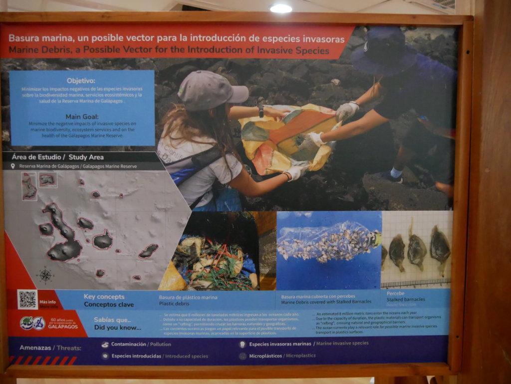 Charles Darwin Station Ausstellung