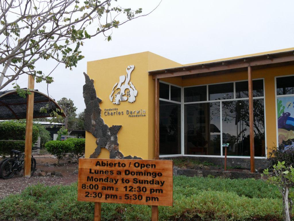 Charles Darwin Station Galapagos Santa Cruz