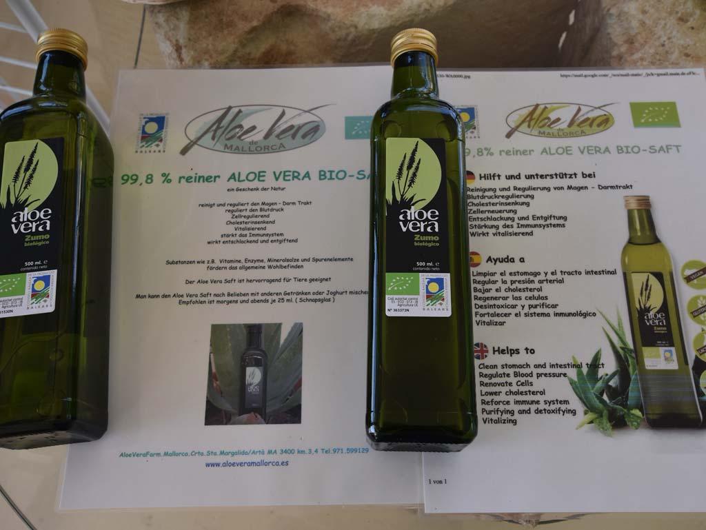 Aloe Vera Farm Mallorca Saft
